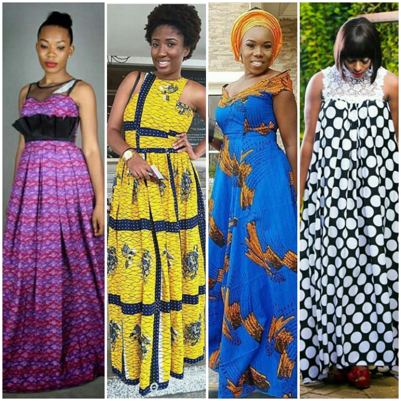 Fabulous Maxi Kitenge Dresses