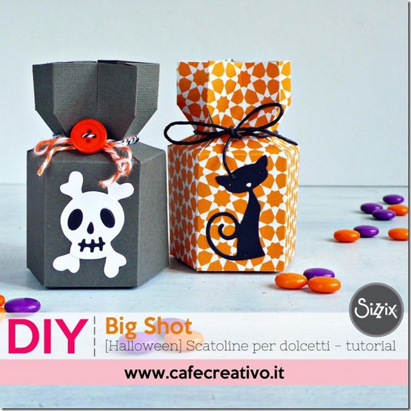 Cafe Creativo: [Halloween] Scatoline per dolcetti - tutorial