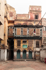 Narrow streets of lahore