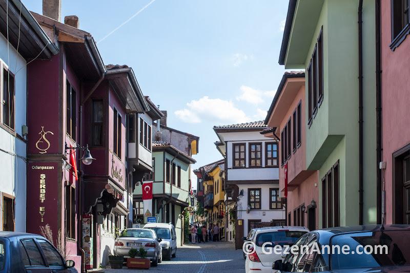 tarihi Odunpazarı evleri ve sokakları, Eskişehir
