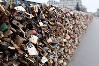 Photo: Another bridge covered with locks