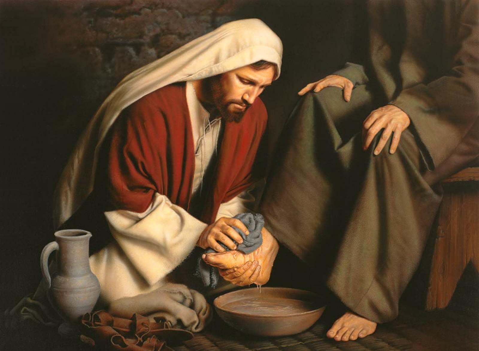 Phải rửa chân cho nhau (09.4.2020 – Thứ Năm Tuần Thánh, Thánh lễ Tiệc ly)