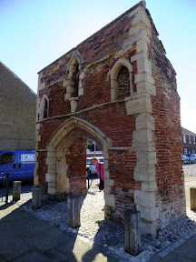 remains of Whitefriars Friary, the Whitefriars Gate also called the Carmelite Gate.