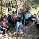Prefeito Carlin Moura visita trilha ecológica do Horto