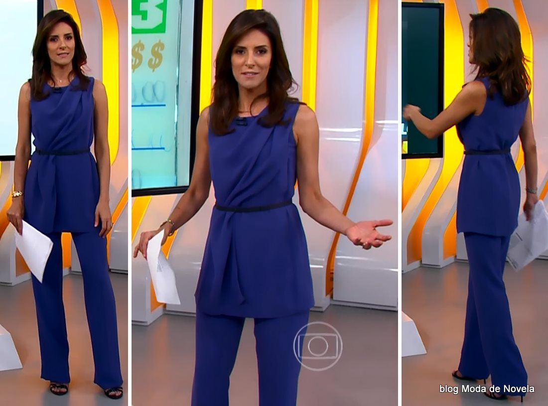 moda do programa Hora 1, look da Monalisa Perrone dia 31 de dezembro