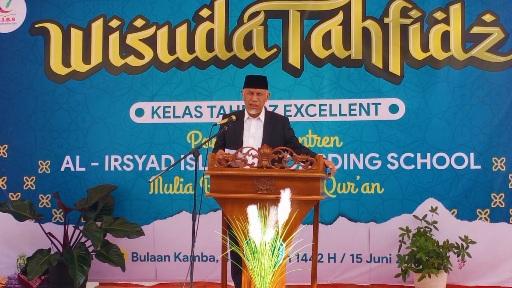 Gubernur Mahyeldi: Menghafal Alquran dengan Hati Bersih