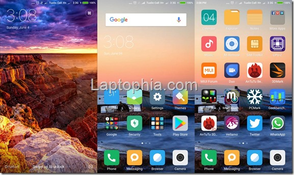 Software & Fitur Xiaomi Mi 5S
