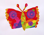 Tissue paper Butterfly by Amber