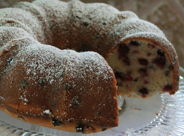 Rich And Buttery Huckleberry Bundt Cake Recipe