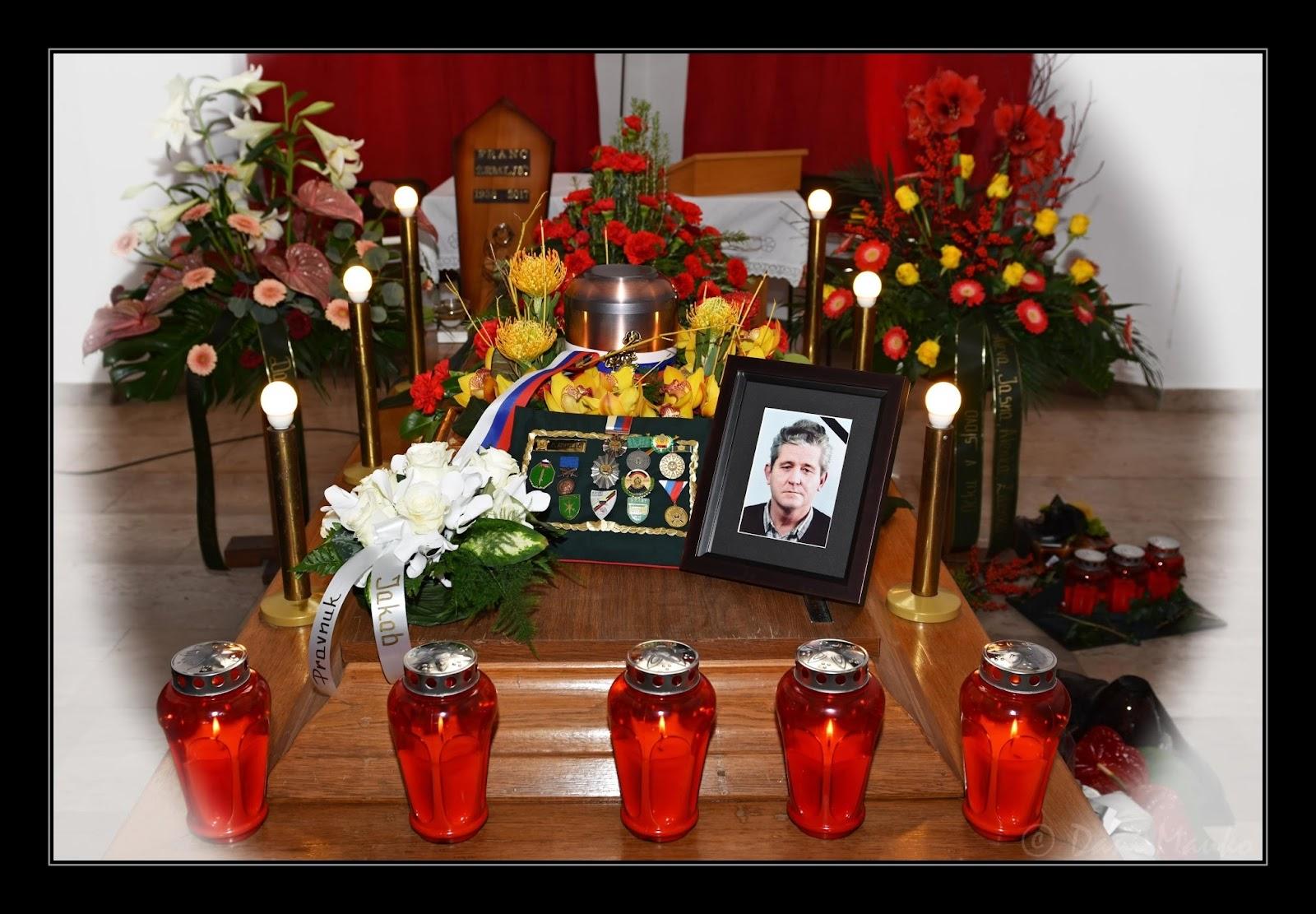Pogreb Franca Zemljiča, 15. november 2017