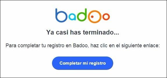 Abrir una cuenta Badoo