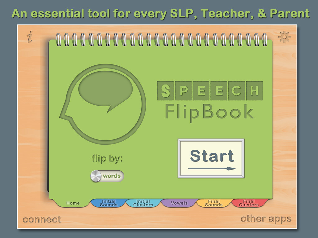 Speech FlipBook Main Page