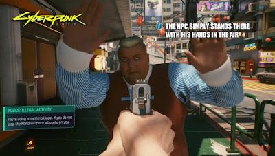 NPC do Cyberpunk 2077