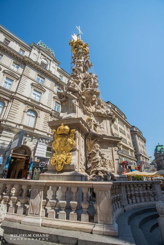 奧地利維也納 -黑死病紀念柱 Pestsäule