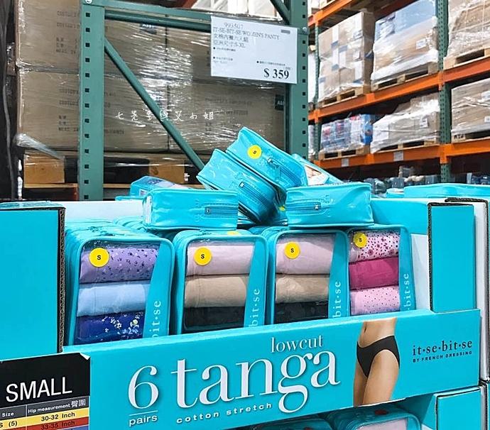 9 Costco 好市多必買物 購物清單 IT-SE-BIT-SE Tanga 進口舒適女內褲