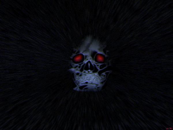 Gothic Scary Skull Gotic, Demons 2