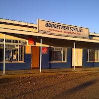 combination Butcher shop and bar