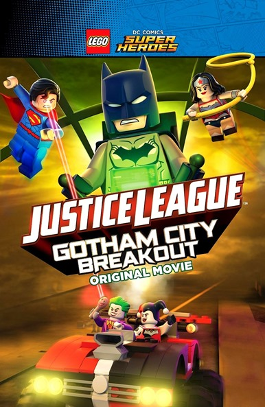 LEGO Liga da Justiça  Fuga em Massa em Gotham City - series sucessos
