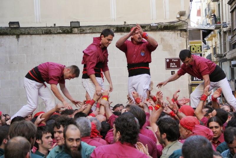 19è Aniversari Castellers de Lleida. Paeria . 5-04-14 - IMG_9481.JPG