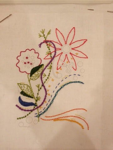 Alison Glass Embroidery project