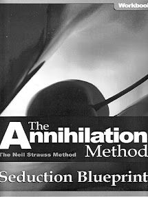 Cover of Neil Strauss's Book The Annihilation Method Seduction Blueprint