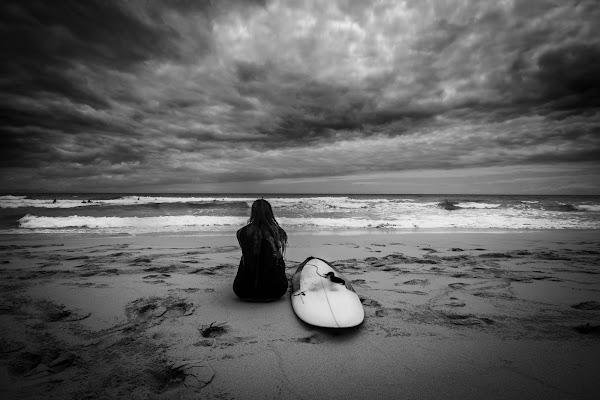 La solitudine in riva al mare di marina_mangini