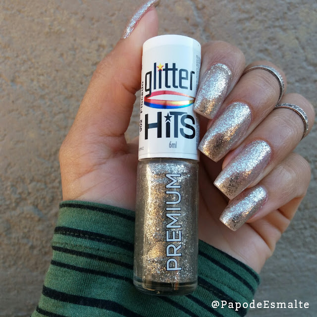 Swatches: Coleção Glitter Flocado Hits Speciallità