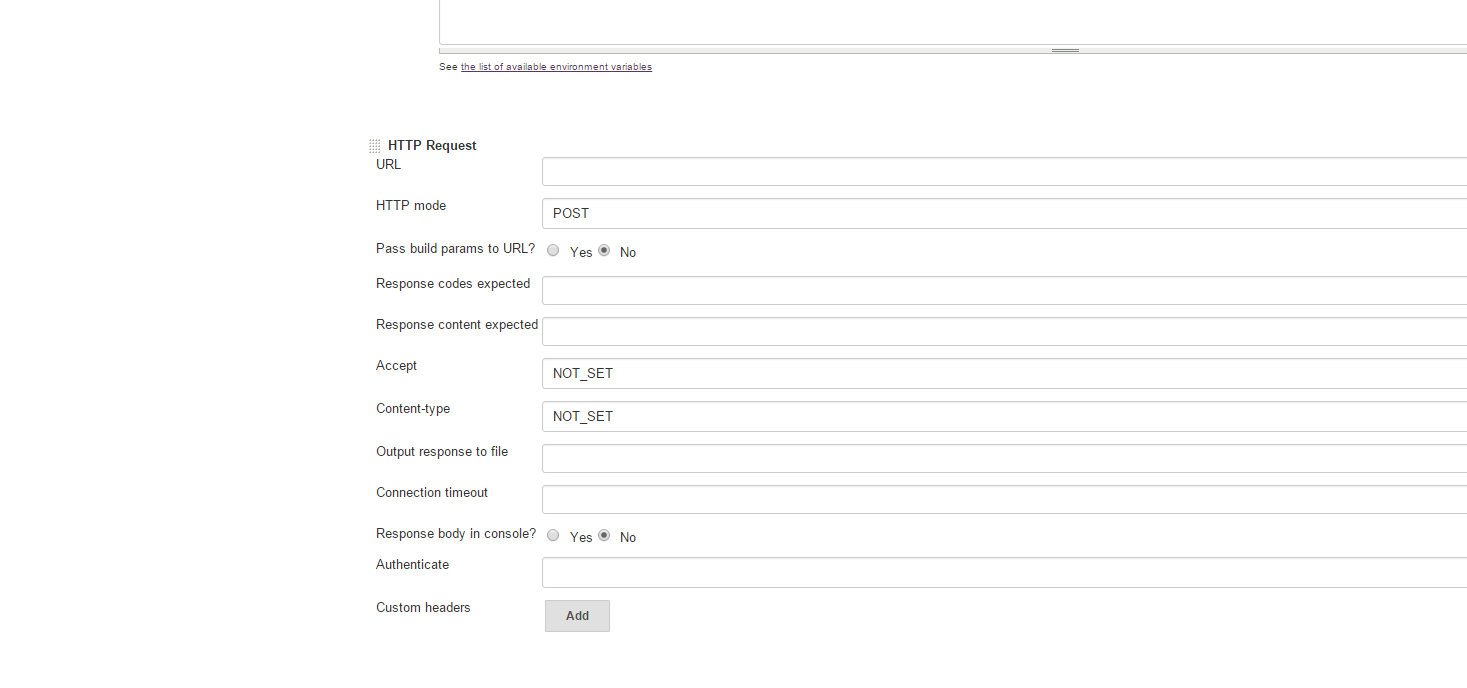 how to send http post request in c