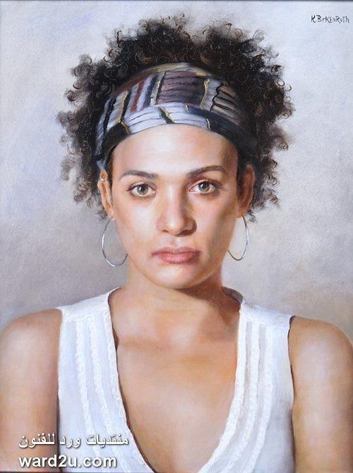 بورتريهات وطبيعة صامتة للفنانة Kelly Birkenruth