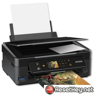 Reset Epson SX445 printer Waste Ink Pads Counter