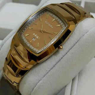 jam tangan Rado tungsten warna Gold berbahan kramik