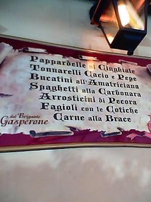 Dal Brigante Gasperone, Via Borgo S. Rocco, 7, 00040 Ariccia RM, Italy