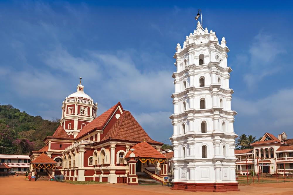 Shantadurga Temple in Ponda Taluka, Goa