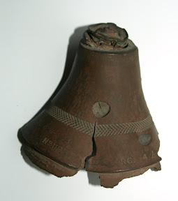 Ontsteker van granaat. Gevonden op de Mookerheide. Collectie: E. Heijink http://www.secondworldwar.nl/enschede/