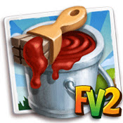 FarmVille 2 Cheats for Red paint