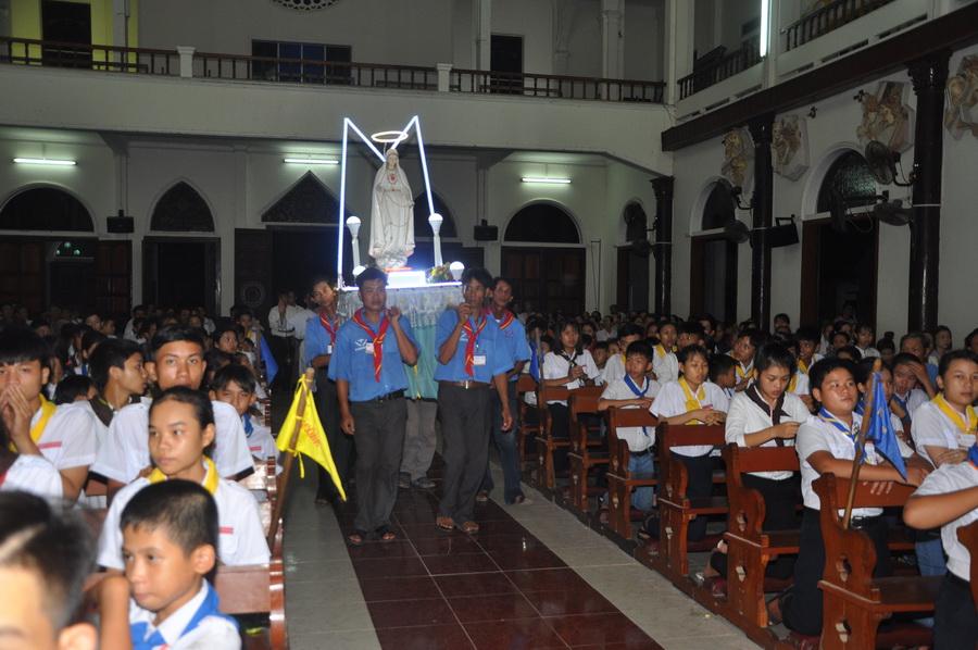 Giáo xứ Gò Thị bế mạc Tháng Hoa
