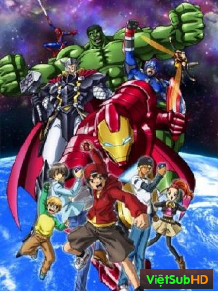 Marvel Disk Wars The Avengers