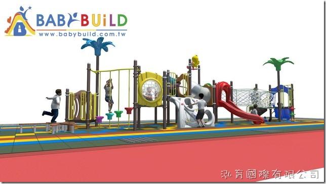 BabyBuild 鑽籠體適能遊具