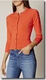Karen Millen lace shoulder cardigan