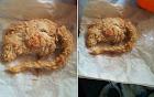 Kinh hoàng phát hiện miếng gà KFC là chuột chiên nguyên con