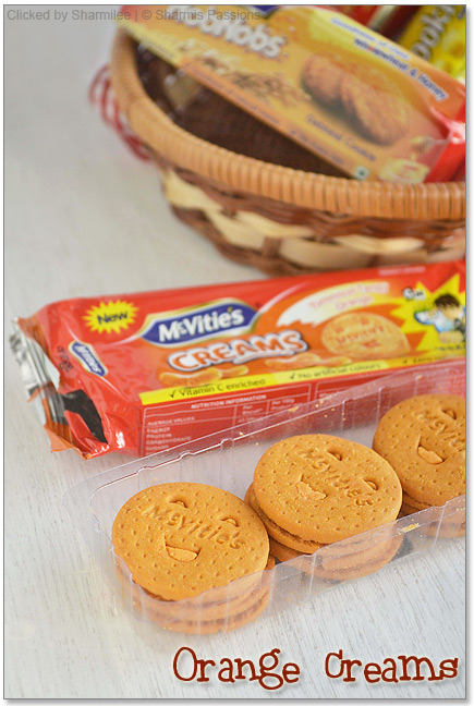 Mcvities Biscuits - Orange Creams