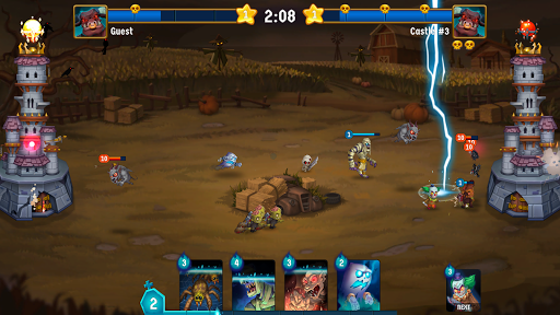 Spooky Wars - Castle Battle Defense Strategy Game modavailable screenshots 4