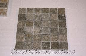 2x2, Flooring, Flooring & Mosaics, Green, Interior, Mosaic, Natural, Quartzite, Stone, Tile
