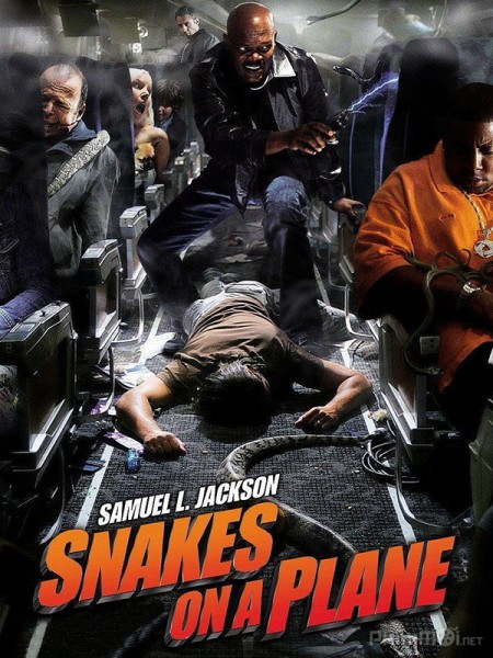 Rắn độc trên không - Snakes on a Plane 2006