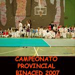 CAMPEONATO PROVINCIAL BINACED 2007