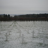 Amerikanischer Friedhof (14'500 Gräber)