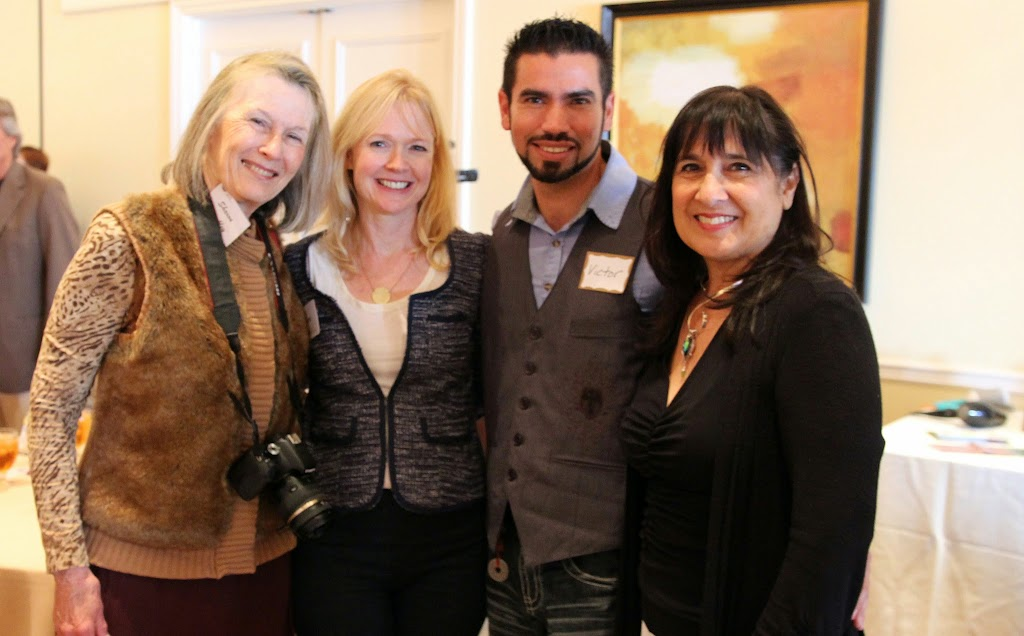 women's wisdom judy foster jan14 luncheon judy rebecca massoud