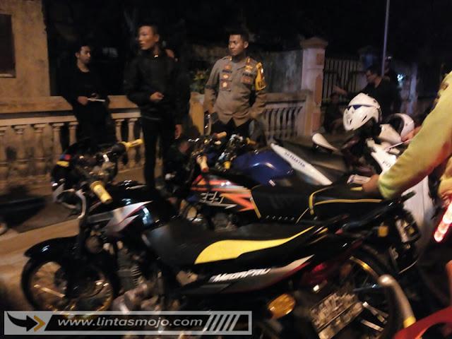 Razia cipta kondisi Polres Mojokerto Kota