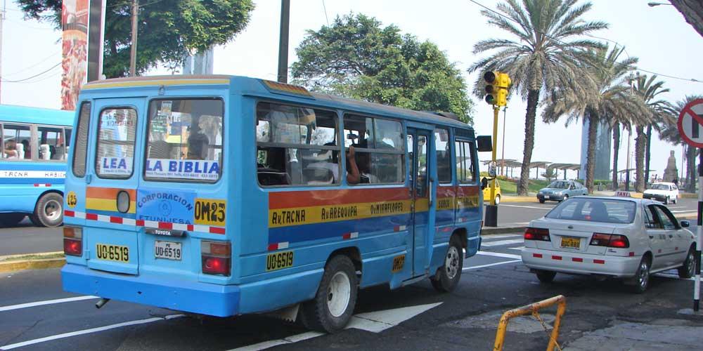 autocarro onibus lima peru