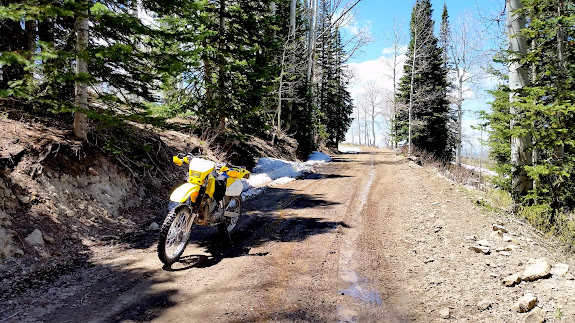 A little mud and snow above Beaver Creek